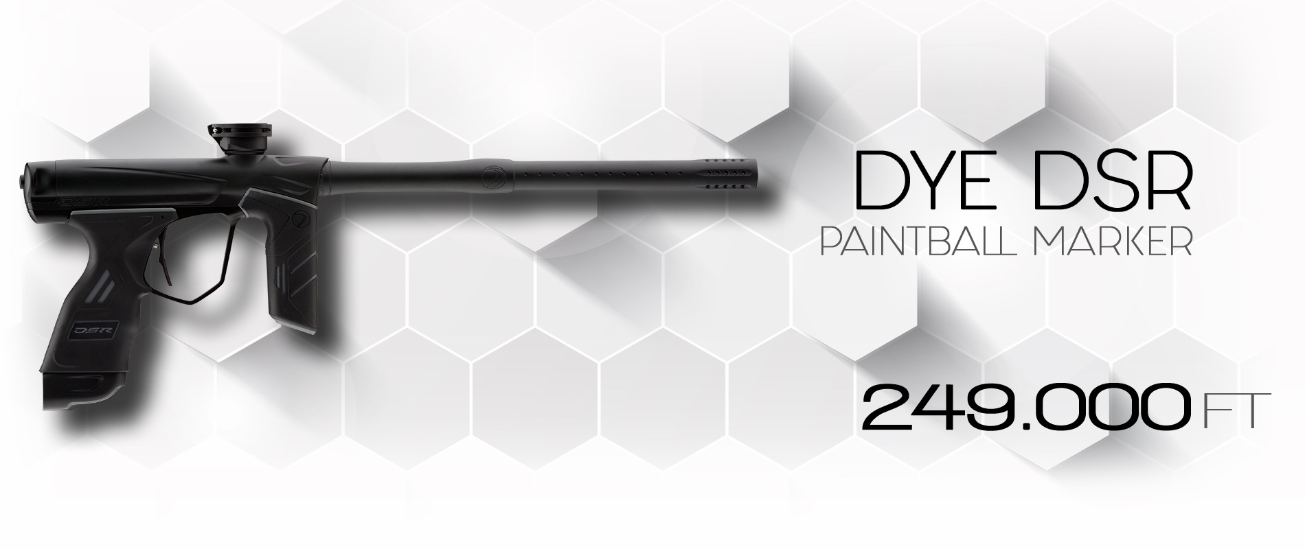 Dye DSR paintball marker