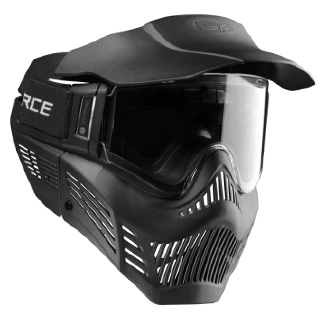 Vforce Armor Single lencsés paintball maszk (black) paintballshop.hu