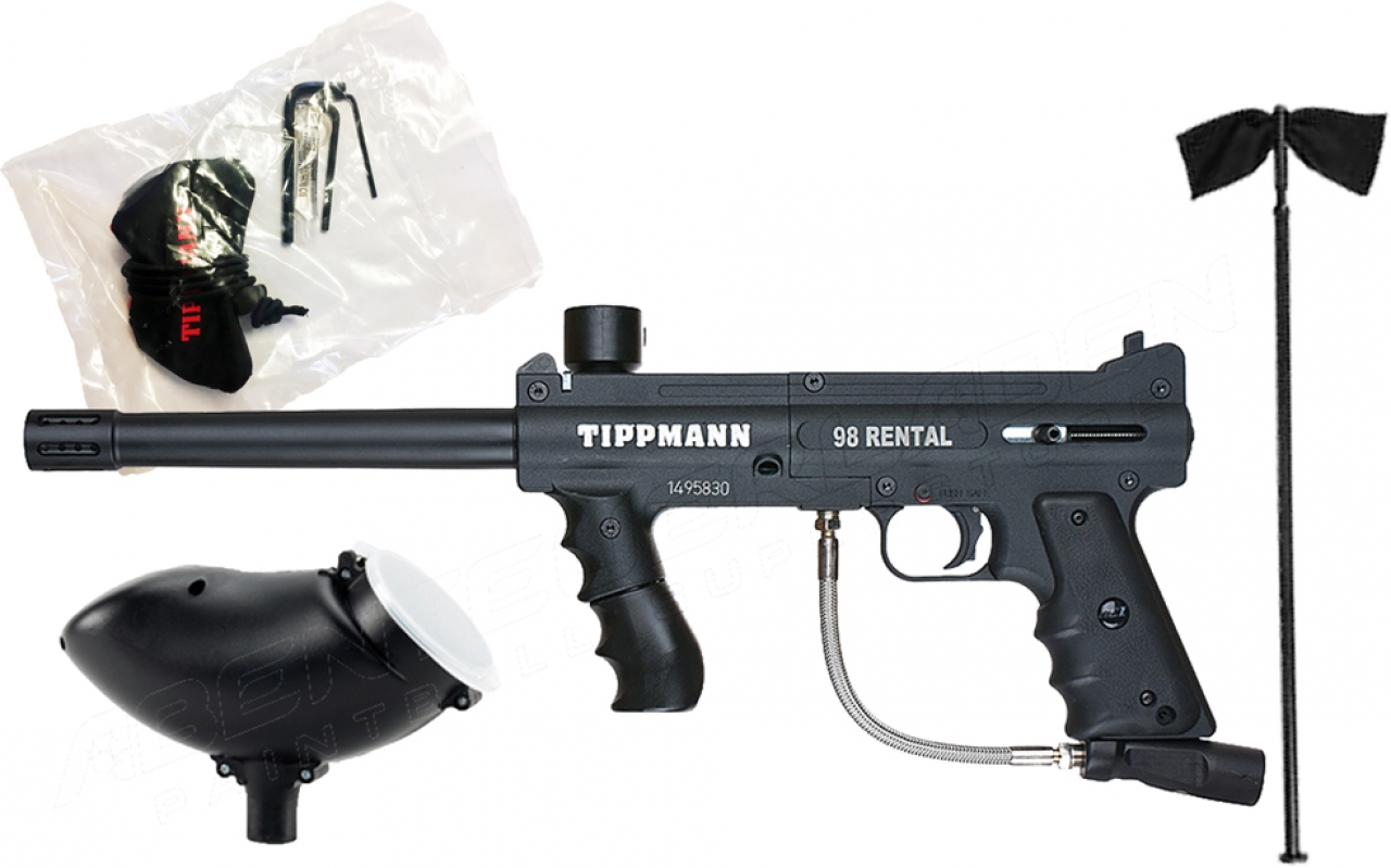 Tippmann 98 Custom PS Rental Paintball marker paintballshop.hu